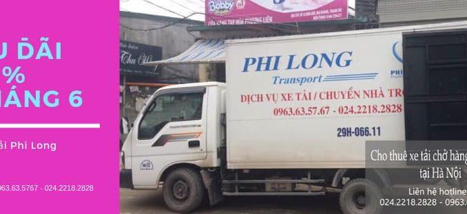 Thanh Hương chuyển văn phòng giảm giá 30% tại phố Đàm Quang Trung