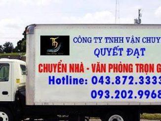 Chuyển văn phòng trọn gói Thanh Hương tại phố An Dương Vương