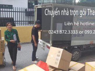 Chuyển văn phòng chuyên nghiệp Thanh Hương tại phố Duy Tân