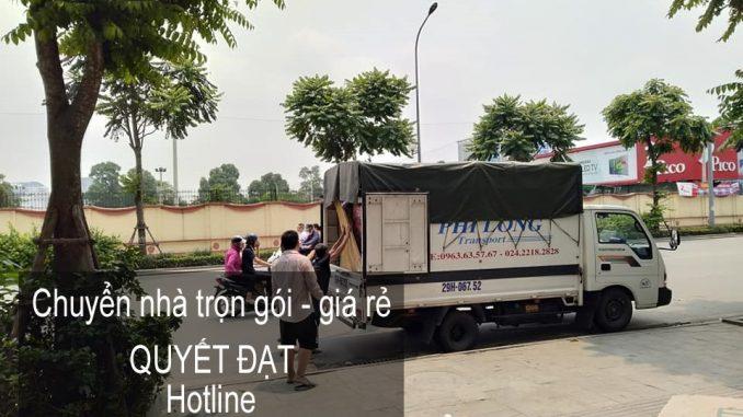Chuyển văn phòng Thanh Hương giá rẻ tại phố Cổ Điển