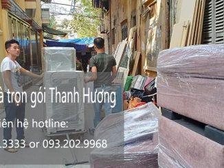 Dịch vụ chuyển văn phòng Thanh Hương tại phố Cầu Cốc