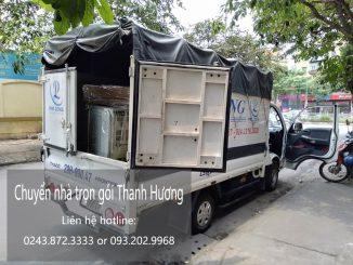 Dịch vụ chuyển văn phòng Thanh Hương tại đường Thượng Thụy