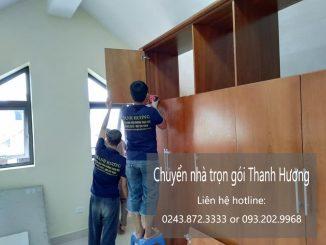 Dịch vụ chuyển văn phòng giá rẻ Thanh Hương tại đường thái thịnh