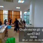 Dịch vụ chuyển văn phòng Thanh Hương tại đường thụy khuê