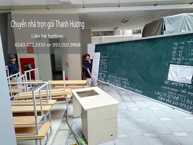 Dịch vụ chuyển văn phòng phố Đào Tấn đi Thanh Hóa